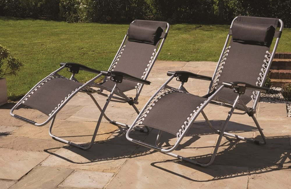 What is a zero gravity sun lounger?